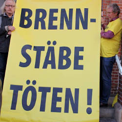 Demonstration in Lingen 2019. Foto: IPPNW