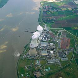 Kernkraftwerk Doel. Foto: IPPNW