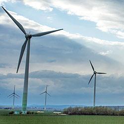 Windpark in Niedersachsen. Foto: gemeinfrei