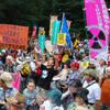 Immer mehr Menschen demonstrieren in Japan gegen die Atomenergie, hier in Tokio am 29.7.2012, Foto: Doro-Chiba Quake Report