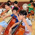 Kinderorchester in der japanischen Stadt Soma-City, Foto: Tatsuya Sasaki