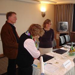 Pressekonferenz zum Auftakt der Biblis-Klage der IPPNW, Foto: IPPNW